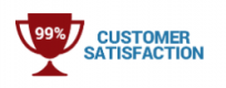 CACHEX 99% customer satisfaction